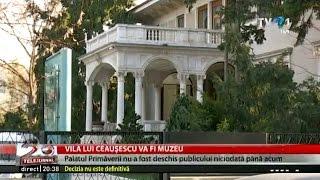 Palatul Primăverii, fosta reședință a soților Ceaușescu, se deschide pentru public