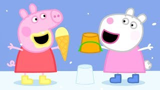 Peppa Pig English Episodes - New Compilation #8 (1 hour) #PeppaPig width=