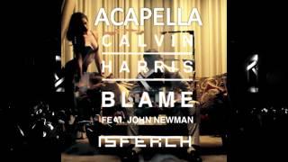 Calvin Harris - Blame ft. John Newman (ACAPELLA)