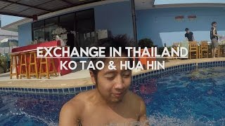 Exchange in Thailand: Ko Tao & Hua Hin