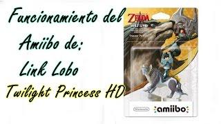 Funciones del Amiibo de Link Lobo (Wolf Link) Twilight Princess HD