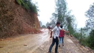 Danger Landslide Live record in Rolpa