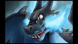Pokemon Mega Charizard X 「 AMV 」- Rise Up