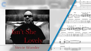 Tenor Sax - Isn't She Lovely - Stevie Wonder - Sheet Music, Chords, & Vocals