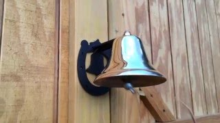 Small Brass Dinner Bell