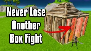 How To Box Fight Like A Pro! - Fortnite Battle Royale Tips & Tricks