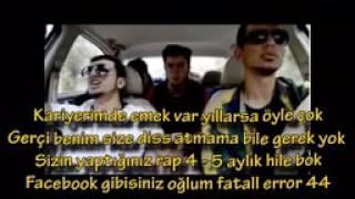 HayaLcash Diss To 2014 Arsız Bela Sanjar İsyanqar26 Haylaz Baba Yasta   YouTube