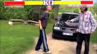 Street Fighter 2 Drunk Russian Edition - A Funny Video