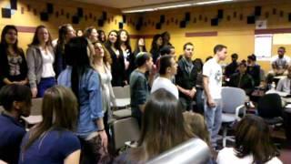 Shir HaShalom sung by Afula Israel Youth Orchestra Choir VID_20110412_091015.3gp