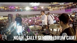 NOAH - Sally Sendiri (Drum Cam) width=