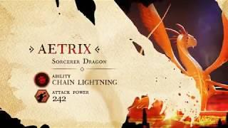 Official War Dragons Trailer - Aetrix in Lava