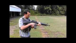Colt M16 Shoot