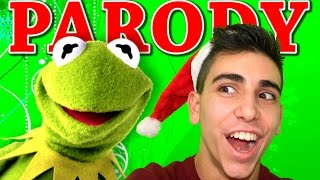 "KERMIT SINGS ""ALL I WANT FOR CHRISTMAS"" (PARODY)"