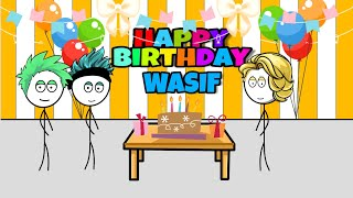 When a gamer gets birthday (Wasif special video by sapro gaming)