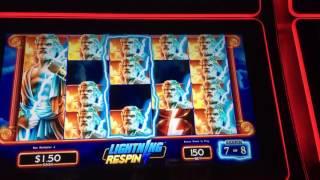 Slot Machine ~ ZEUS SON of KRONOS ~ Live Play