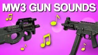 MW3 Gun Sounds Beat ♫