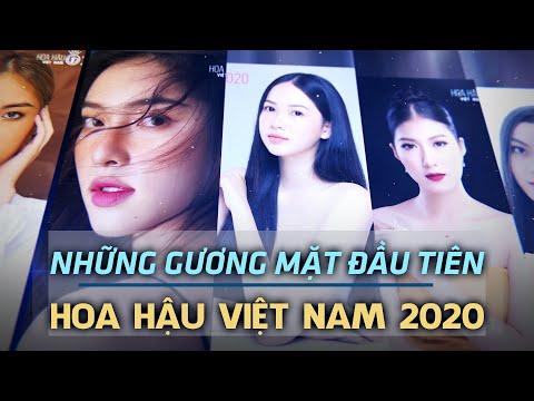 HÉ LỘ NHỮNG THÍ SINH ĐẦU TIÊN CỦA HOA HẬU VIỆT NAM 2020