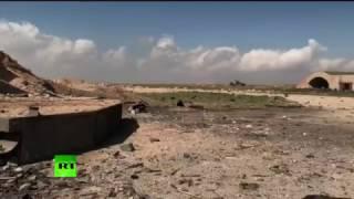 Así quedó la base aérea siria tras el bombardeo de EE.UU.