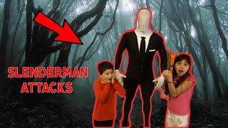 SLENDERMAN PRANK ON KIDS!!!