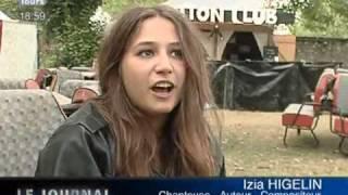 Izia Higelin en concert à Loches