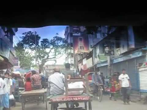 バングラデシュ オールドダッカ リキシャと人々