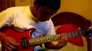 Joe Satriani's 'The Traveler' Cover (with minor improvisations)