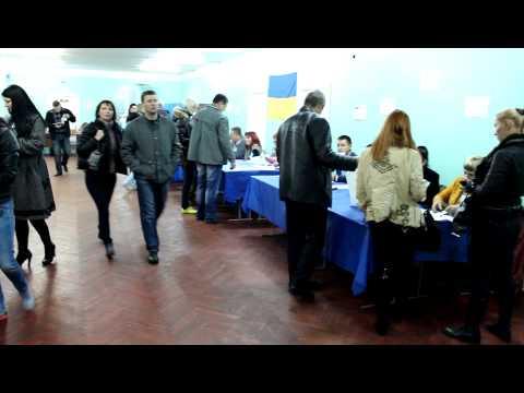 Ukraine Parliamentary Election 2012 – Voting – Kiev