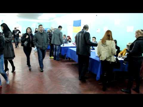 Ukraine Parliamentary Election 2012 – Voting – Kiev