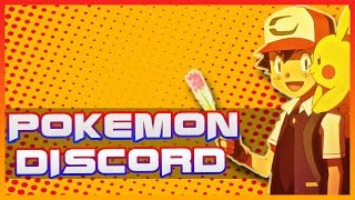 Pokemon Discord Announced!! (Audio issue sorry!)