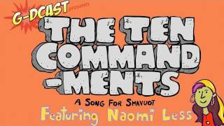 The Ten Commandments - A Shavuot Song for Kids