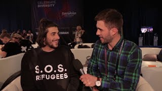 Salvador Sobral - Very funny interview, 2017 [Eng Subs] - about love, Slavko and his homeland