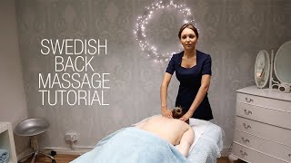 Basic Swedish Back Massage Techniques - Relaxing Step by Step Guide width=