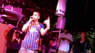 J Cole ft Beyonce - Party & Nobody's Perfect Live Ibiza 05/07/12