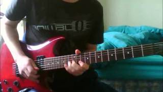 DISTURBED - ANOTHER WAY TO DIE guitar solo cover