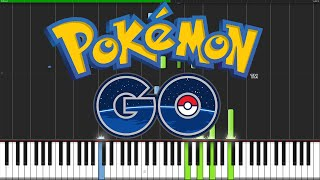 Walking (Map Theme) - Pokémon Go [Piano Tutorial] // Nadav Schneider