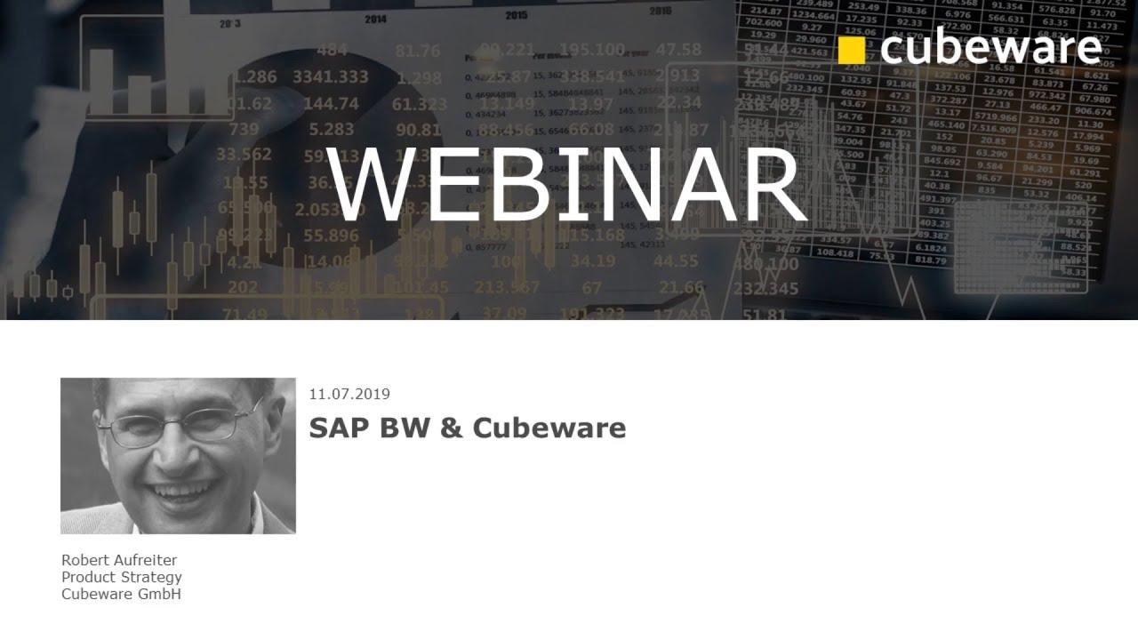 SAP BW & Cubeware