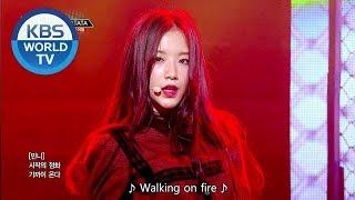 (G)I-DLE ((여자) 아이들) - LATATA [Music Bank HOT DEBUT / 2018.05.04] width=