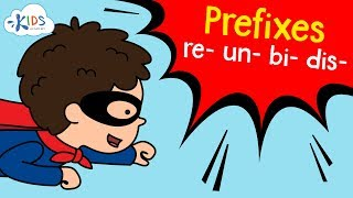 Prefixes: -un, -re, -dis, -bi