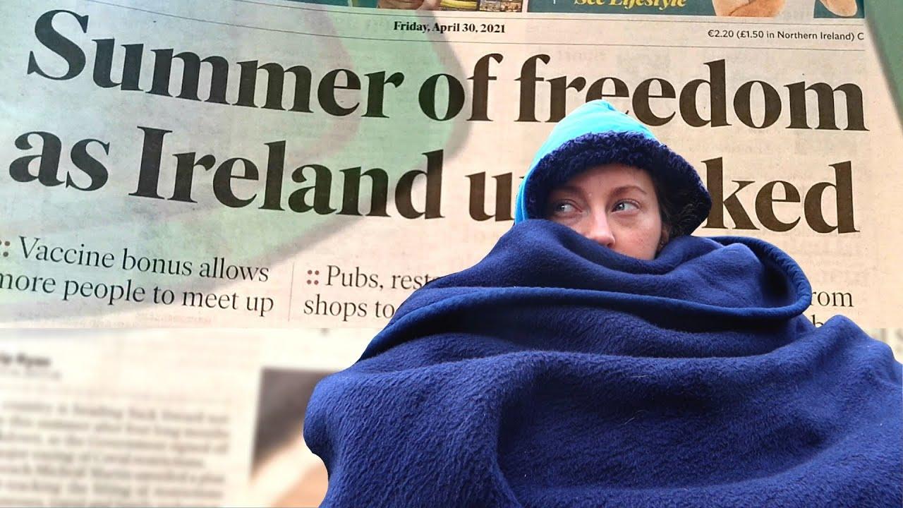 Garden Visits Allowed as Lockdown Begins To Ease In Ireland (🥶) | CoronaVLOGs
