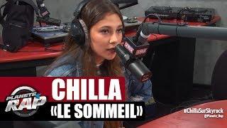 """Chilla """"Le sommeil"""" en freestyle #PlanèteRap"""