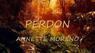 PERDON ,   ANNETTE MORENO
