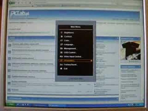 Hp w1707 lcd monitor main input driver board 715g2559 3 3 t.