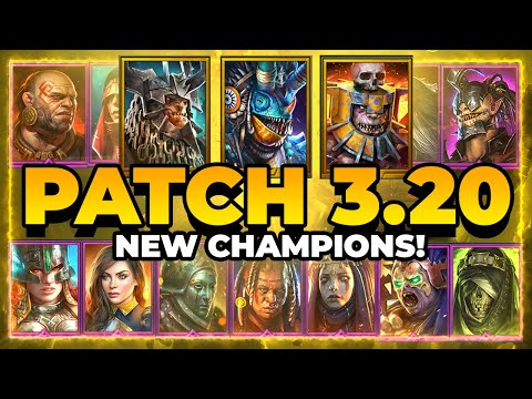 INSANE New Champs?! 3.20 COMING! | RAID Shadow Legends