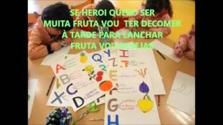 """""""Hino da Fruta 2013/2014- Sala dos Pandas e  Abelhinhas- CPSNSA- JI Nuvem Setúbal"""