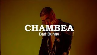 BAD BONNY chambea  AUDIO oficial