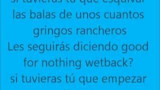 Frijolero(Molotov)-Letra