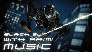 Spider-Man (PS4) Black Raimi Suit & Music