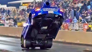 Camaro NEARLY Flips! Nitrous V8 POWER!!