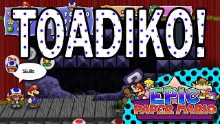 Epic Paper Mario - Toadiko Partner Gameplay