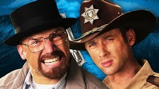 : Walter White VS Rick Grimes. Epic Rap Battles